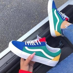 Vans Era Colorblock Primary Colors W